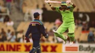 World Cup Countdown: 1992 – When jumping Javed Miandad mocked Kiran More at the SCG