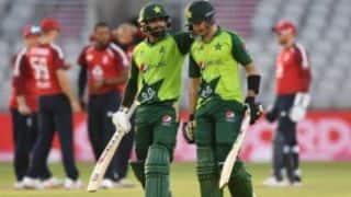 England vs Pakistan 3rd T20 : हफीज के 86 रन की पारी के दम पर पाक ने इंग्लैंड को हराया