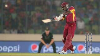 Darren Sammy's late blitz helps West Indies trump Australia in ICC World T20 2014 thriller