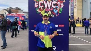 Full of positivity, disabled World Cup Cricketeer Russ Yardley giving back to cricket and Somerset community