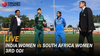 Live cricket score, IND W vs SA W, 3rd ODI: Shikha strikes; Lee dismissed