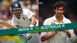 Live Cricket Score India A vs Australia A, 2nd unofficial Test at Chennai Day 3, STUMPS, IND A 267/6: Lead by 53 runs