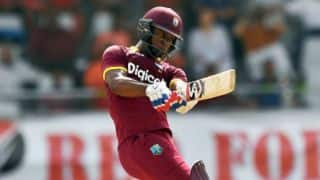 Evin Lewis's unbeaten 63 guides WI to 7-wicket win over PAK in 3rd T20I