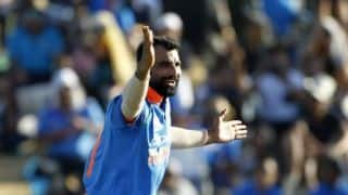 Fit and In-form Mohammed Shami is all ready for World Cup 2019