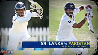 Live Cricket Score Sri Lanka vs Pakistan 2015, 1st Test at Galle, Day 2 SL 178/3 after 64 overs: Silva shines to keep SL on top at Stumps