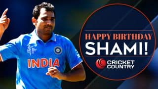Happy Birthday, Shami! India pacer turns 26