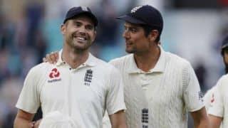एलिस्टर कुक ने माना जेम्स एंडरसन इंग्लैंड का सर्वश्रेष्ठ खिलाड़ी