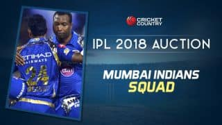 Mumbai Indians(MI) team squad for IPL 2018: Final list of players after auction