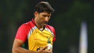 VIDEO: Sohail Tanvir's middle-finger sendoff in CPL creates storm, may face sanction