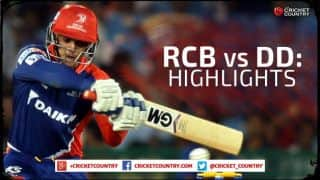 Royal Challengers Bangalore vs Delhi Daredevils, IPL 2015 Match 55 Highlights: Quinton de Kock and JP Duminy steal the show, rain plays spoilsport, and more
