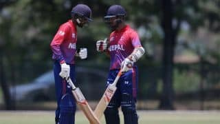 Asia Cup Qualifiers: Nepal beat Malaysia by 19 runs