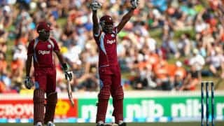 West Indies amass 363/4 against New Zealand in 5th ODI
