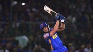 IPL 2018: जोस बटलर ने छक्का मारकर दिलाई राजस्थान की टीम को मुंबई पर जीत