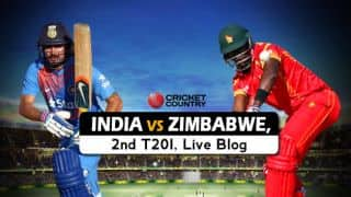 IND 103/0 in 13.1 overs| India vs Zimbabwe 2016, Live Cricket Score, 2nd T20I at Harare: IND win by 10 wickets, level series