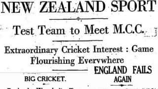 First Test of every side: Part 2 of 3 — West Indies, New Zealand, India