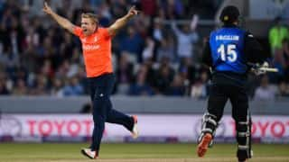 David Willey likely to miss ODI series against Sri Lanka due to abdominal strain