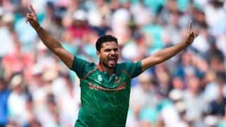 Mashrafe Mortaza: Winning the toss was crucial against zimbabwe in 2nd ODI