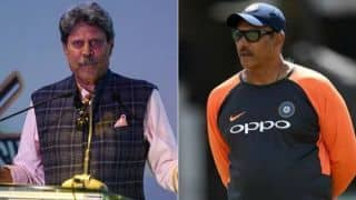 Kapil dev explains why Ravi Shastri is re elected as Team India head coach