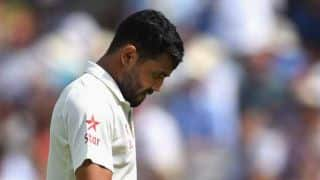 Ravindra Jadeja fined 50 percent of match fee for row with James Anderson
