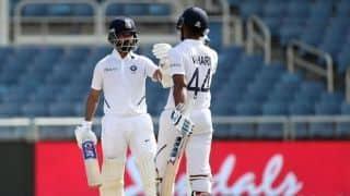 रहाणे-विहारी ने जड़े अर्धशतक, भारत ने विंडीज को जीत के लिए दिया 468 रनों का लक्ष्य