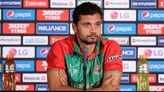 India's decision to send full strength team appreciated by Mashrafe Mortaza