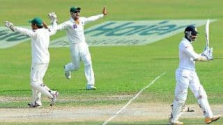 Sri Lanka reel at 133 for 5 at end of Day Four; Pakistan in with a chance
