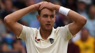 Stuart Broad disappointed for being left out of Barbados Test