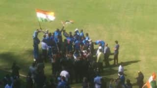 India thrash Pakistan by 9 wickets to win T20 Blind World Cup 2017