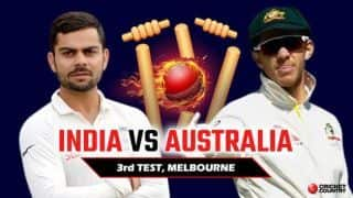 India vs Australia 2018, 3rd Test: MATCH HOME – Live scores, updates, reports, videos