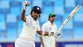 Mahela Jayawardene scores 11th Test ton at SSC; Sri Lanka 212/3 at tea on Day 1 against South Africa