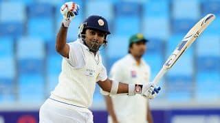 Mahela Jayawardene scores 11th Test ton at SSC; Sri Lanka 212/3 at tea on Day 1 against South Africa