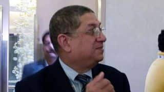 N Srinivasan unperturbed, says Supreme Court has not said anything against him