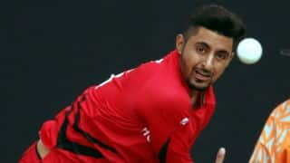 ICC World T20 Qualifiers 2015: Hong Kong's Nizakat Khan barred from bowling due to suspect action