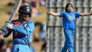 Smriti Mandhana, Jhulan Goswami continue to top ICC Women's ODI Rankings