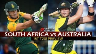 South Africa vs Australia 2015-16, 1st T20I at Durban: Preview
