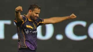 Yusuf turns commentator during KKR's warm-up match ahead of IPL 2017