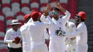 Afghanistan vs Ireland Only Test: Afghanistan 90/2 at stumps, trail by 82 runs