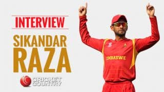 Sikandar Raza: Performance in Zimbabwe's victory against Sri Lanka one of the biggest achievements