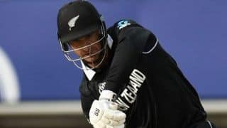 Having Kane Williamson at the other end makes it a lot easier: Colin de Grandhomme