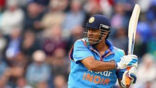 India vs West Indies 4th ODI at Dharamsala: MS Dhoni run-out