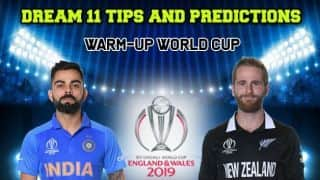 Dream11 Prediction: IND vs NZ Team Best Players to Pick for Today's Match of World Cup 2019 Warm-up Match 4 between India and New Zealand at 3:00 PM