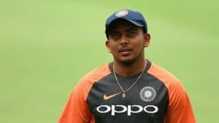 Prithvi Shaw had no symptoms of cough or cold: Ex-Mumbai coach and physio