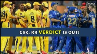 IPL Verdict: CSK, RR suspended for 2 years; Gurunath Meiyappan, Raj Kundra suspended for life
