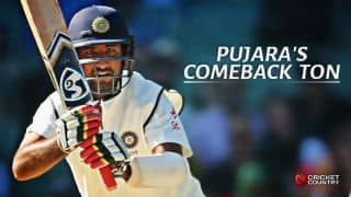 Cheteshwar Pujara scores 7th Test ton during 3rd Test against Sri Lanka at Colombo