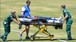वार्म-अप मैच के दौरान सिर पर गेंद लगने से चोटिल हुई श्रीलंकाई गेंदबाज