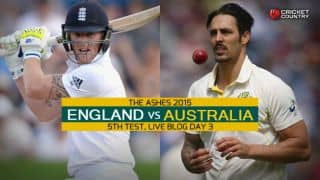 ENG 2nd Inns: 203/6 | Live Cricket Score England vs Australia, The Ashes 2015, 5th Test at The Oval, Day 3: Finally, Cook falls after resolute 85