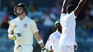 Video: Steven Smith booed by crowd during Newlands Test