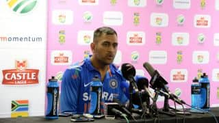 India vs South Africa 2nd ODI: Middle-order is a bit of a bother, says MS Dhoni
