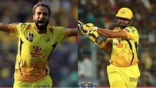चेन्नई की जीत में चमके ताहिर और रैना, कोलकाता को 5 विकेट से दी मात