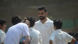 Virat Kohli felicitated by Mumbai's Shivaji Park Gymkhana